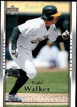 2007 Upper Deck #855  Todd Walker