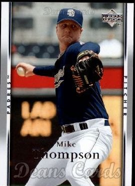 2007 Upper Deck #905  Mike Thompson