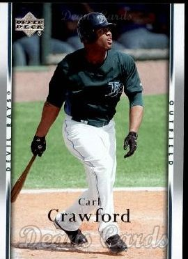 2007 Upper Deck #974  Carl Crawford