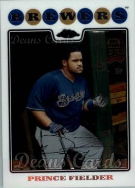 2008 Topps Chrome #120  Prince Fielder