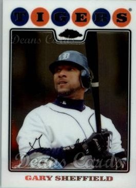 2008 Topps Chrome #162  Gary Sheffield