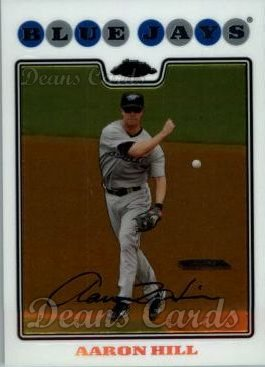 2008 Topps Chrome #43  Aaron Hill