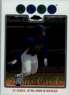 2008 Topps Chrome #86  Carl Crawford