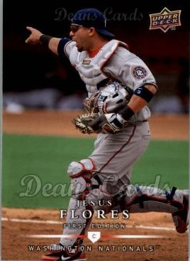 2008 Upper Deck First Edition #137  Jesus Flores