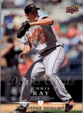 2008 Upper Deck First Edition #144  Chris Ray