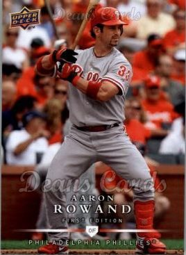 2008 Upper Deck First Edition #165  Aaron Rowand