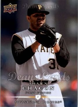 2008 Upper Deck First Edition #169  Shawn Chacon