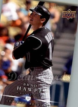2008 Upper Deck First Edition #207  Brad Hawpe