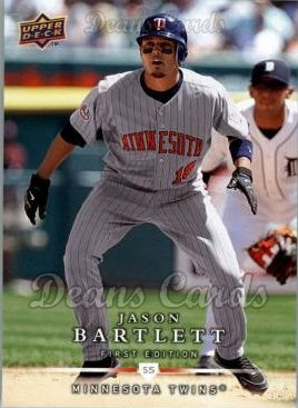 2008 Upper Deck First Edition #231  Jason Bartlett