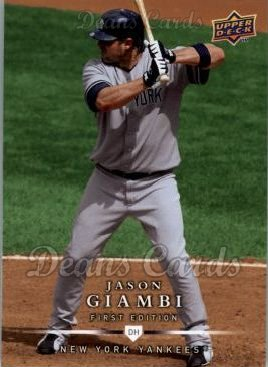 2008 Upper Deck First Edition #249  Jason Giambi