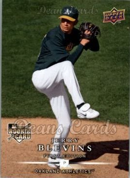 2008 Upper Deck First Edition #256  Jerry Blevins