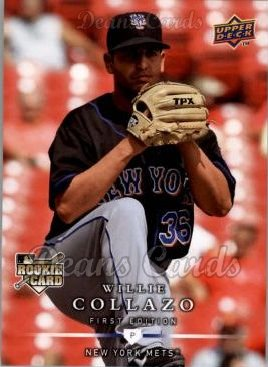 2008 Upper Deck First Edition #262  Willie Collazo