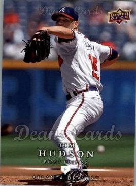 2008 Upper Deck First Edition #34  Tim Hudson