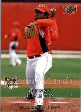 2008 Upper Deck First Edition #340  Johnny Cueto