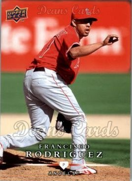 2008 Upper Deck First Edition #379  Francisco Rodriguez