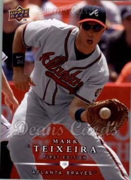 2008 Upper Deck First Edition #39  Mark Teixeira