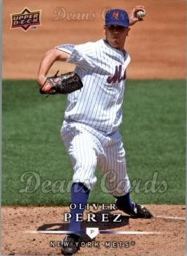 2008 Upper Deck First Edition #408  Oliver Perez