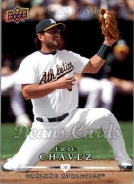 2008 Upper Deck First Edition #430  Eric Chavez
