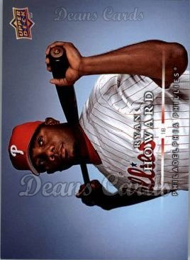 2008 Upper Deck First Edition #434  Ryan Howard