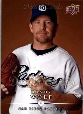 2008 Upper Deck First Edition #455  Randy Wolf