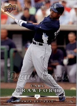 2008 Upper Deck First Edition #478  Carl Crawford