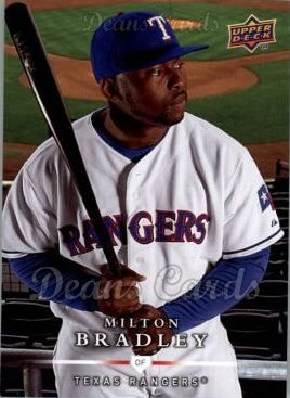2008 Upper Deck First Edition #484  Milton Bradley