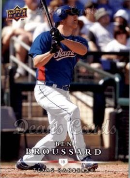 2008 Upper Deck First Edition #487  Ben Broussard