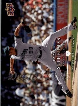2008 Upper Deck First Edition #67  James Shields