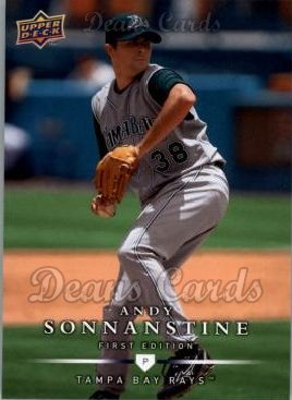 2008 Upper Deck First Edition #68  Andy Sonnanstine