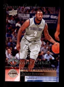 2009 Upper Deck #206  DaJuan Summers