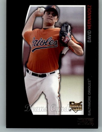 2009 Topps Unique #152  David Hernandez