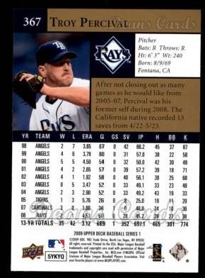 2009 Upper Deck #367  Troy Percival