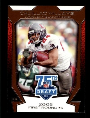 2010 Topps Draft 75th Anniversary #17 75DA Cadillac Williams