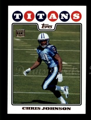 2010 Topps Anniversary Reprint #10  Chris Johnson