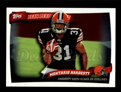 2010 Topps Peak Performance #48 PP Montario Hardesty