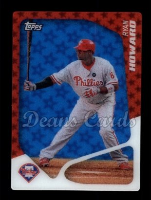2010 Topps 2020 Inserts #7 T  -  Ryan Howard 2020