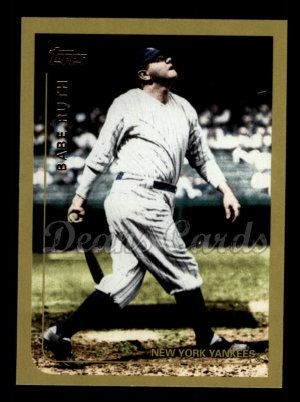 2010 Topps Vintage Legends #10 VLC Babe Ruth