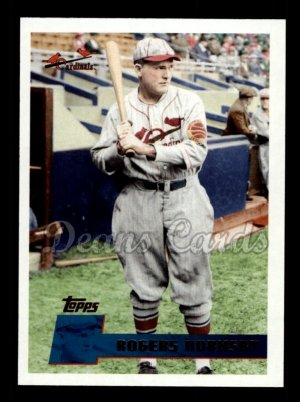 2010 Topps Vintage Legends #19 VLC Rogers Hornsby
