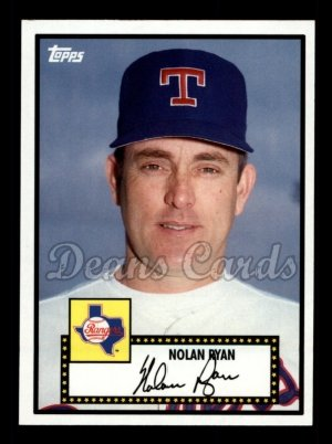 2010 Topps Vintage Legends #21 VLC Nolan Ryan