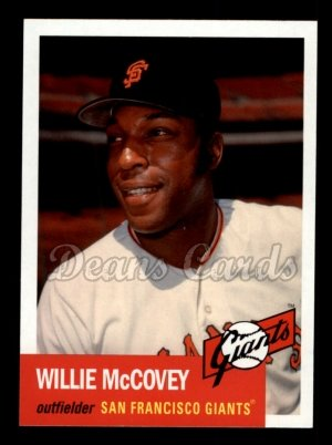 2010 Topps Vintage Legends #6 VLC Willie McCovey