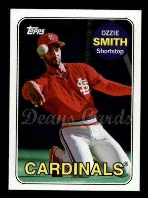 2010 Topps Vintage Legends #9 VLC Ozzie Smith