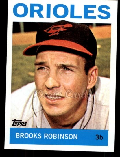 2010 Topps Cards Your Mom Threw Out #13 CMT Brooks Robinson