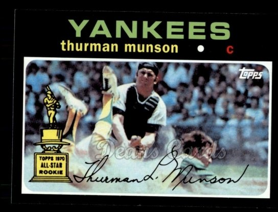 2010 Topps Cards Your Mom Threw Out #20 CMT Thurman Munson