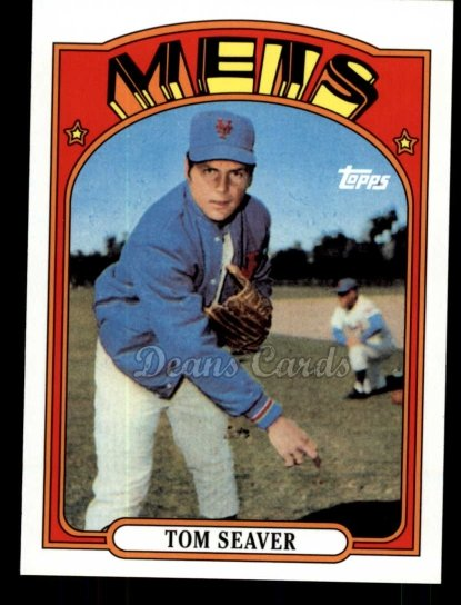 2010 Topps Cards Your Mom Threw Out #21 CMT Tom Seaver