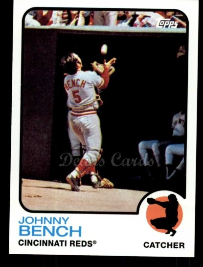 2010 Topps Cards Your Mom Threw Out #22 CMT Johnny Bench