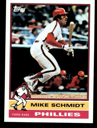 2010 Topps Cards Your Mom Threw Out #25 CMT Mike Schmidt