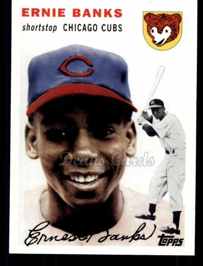 2010 Topps Cards Your Mom Threw Out #3 CMT Ernie Banks