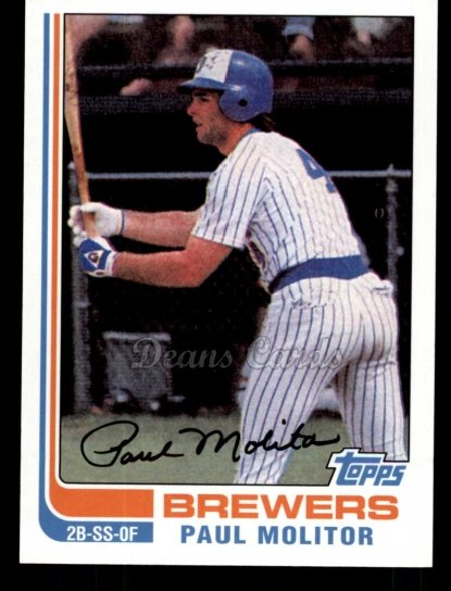 2010 Topps Cards Your Mom Threw Out #31 CMT Paul Molitor