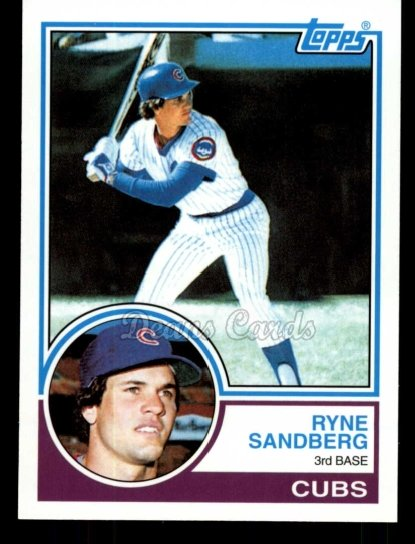 2010 Topps Cards Your Mom Threw Out #32 CMT Ryne Sandberg