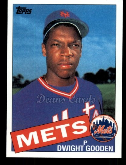 2010 Topps Cards Your Mom Threw Out #34 CMT Dwight Gooden
